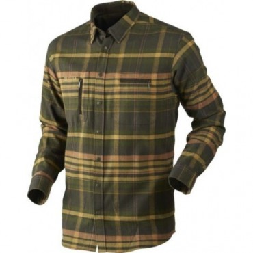 CHEMISE HARKILA SHADOW BROWN CHECK