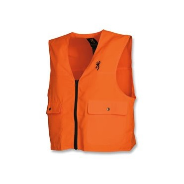 GILET DE SECURITE BROWNING ORANGE FLUO