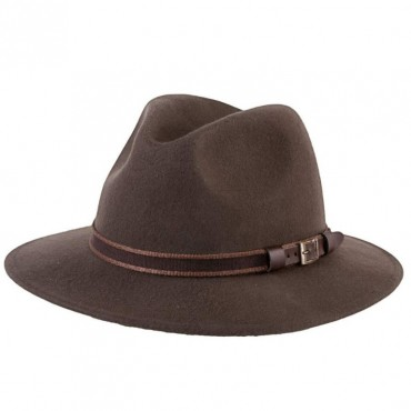 CHAPEAU BROWNING WOOL...