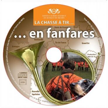 CD  FANFARES  LA CHASSE A TIR