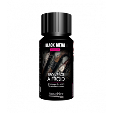 FLACON BLACK METAL 50ML...
