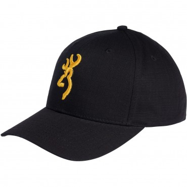 CASQUETTE BROWNING BLACK AND GOLD TAILLE UNIQUE NEUVE (015241)